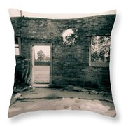 Downtown Monroe Throw Pillow
