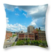 Downtown Montgomery Throw Pillow