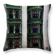 Downtown San Francisco Throw Pillow