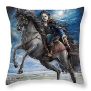 Dr Syn Throw Pillow