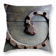 Dragon Iron Work Throw Pillow