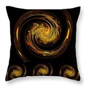 Dragons IIi Throw Pillow