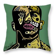 Drake Full Color Throw Pillow