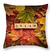 Dream-autumn Throw Pillow