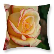 Dream Come True Grandiflora Throw Pillow