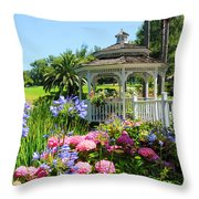 Dream Gazebo Throw Pillow