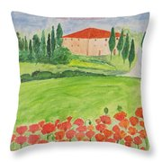 Dream Home Throw Pillow