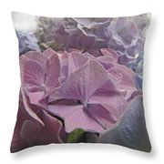 Dream Hydrangeas Throw Pillow