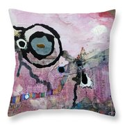 Dream Painting Throw Pillow