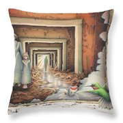 Dream Series - Transfixed Throw Pillow by Amy S Turner