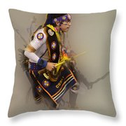 Pow Wow Dream Time Throw Pillow