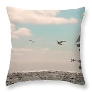 Dreamers Journey Throw Pillow