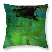 Dreaming Of My Trip To Index II Throw Pillow