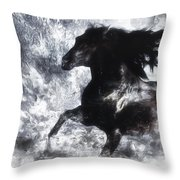 Dreamrider Throw Pillow