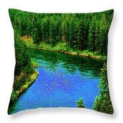 Dreamriver Throw Pillow