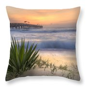 Dreams By The Sea Throw Pillow