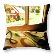 Dreams From The Window Seat Throw Pillow