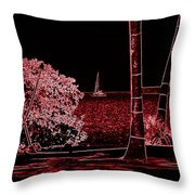 Dreams Of Getting Away Throw Pillow