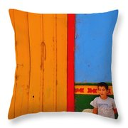 Dreams Of Kids Throw Pillow