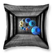 Dreams Of Shade And Light Throw Pillow