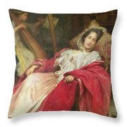 Dreams Throw Pillow by Stefani Melton Fisher
