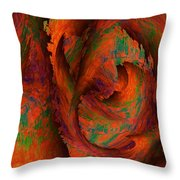 Dreamscapes Throw Pillow by Christohper Gaston