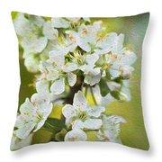 Dreamy Blossom. Throw Pillow