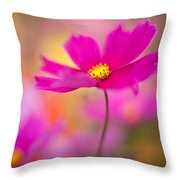 Dreamy Cosmos Throw Pillow