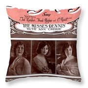 Dreamy Melody Throw Pillow