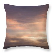 Dreamy Sunrise Over The Atlantic Throw Pillow