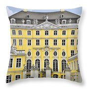 Dresden Taschenberg Palace - Celebrate Love While It Lasts Throw Pillow