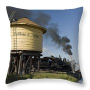 Drgw 315 In Antonito Throw Pillow