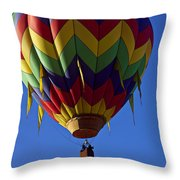 Driffting On The Wind Throw Pillow