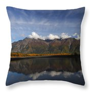 Drifting Clouds Throw Pillow