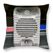 Drive In Speaker Throw Pillow