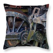 Drive Rod Assembly Throw Pillow