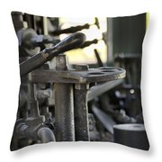 Drive The Train Throw Pillow