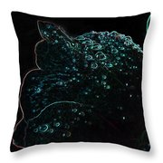 Drops Of Light II Throw Pillow