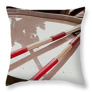Drum At Rest Throw Pillow