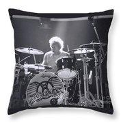 Drumming Throw Pillow