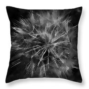 Drunk Dandelion  Throw Pillow
