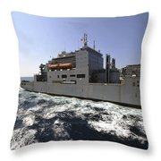 Dry Cargoammunition Ship Usns Richard Throw Pillow