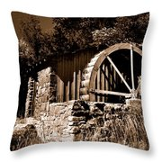 Dry Mill Throw Pillow