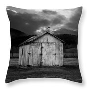 Dry Storm Throw Pillow