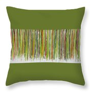 D.s. Color Band Throw Pillow