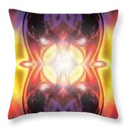 A Spirit Freed To Speak Throw Pillow
