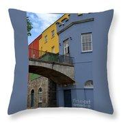 Dublin Castle In Dublin Ireland Throw Pillow