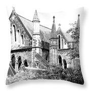 Dublin Church Throw Pillow