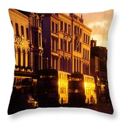 Dublin, Co Dublin, Ireland Buildings Throw Pillow
