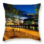 Dublin, Co Dublin, Ireland Custom House Throw Pillow